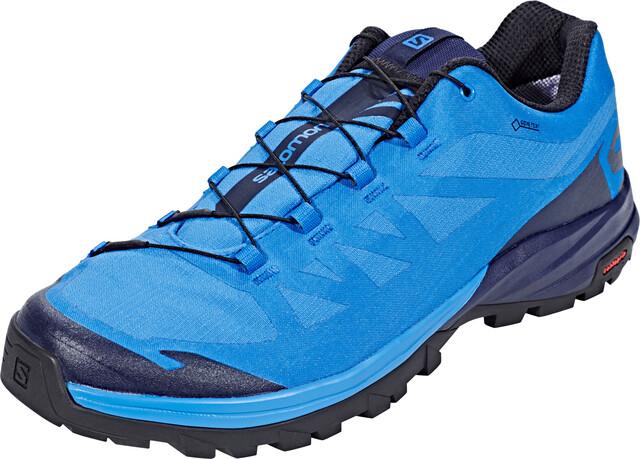 Salomon Outpath GTX Shoes Herren indigo buntingnavy blazerblack